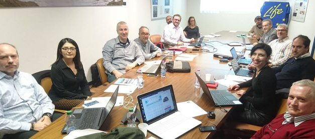LIFE ASTI project Meeting in Rome
