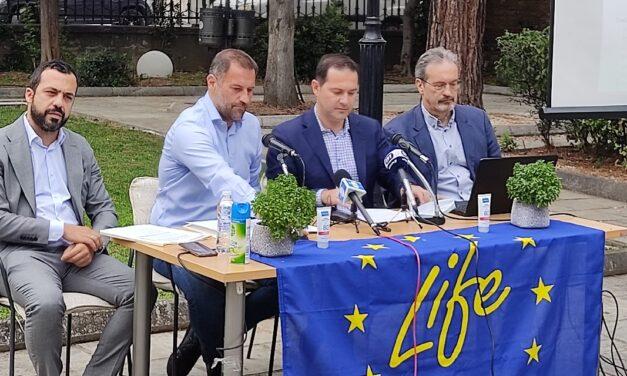 Press Conference of LIFE ASTI at Thessaloniki Municipal Gallery