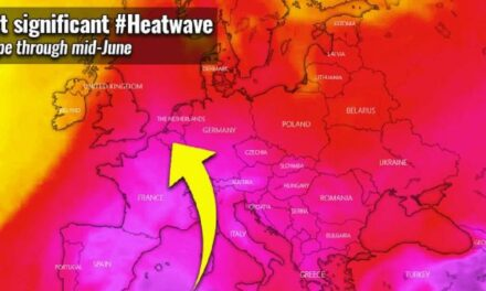THE FIRST SIGNIFICANT HEATWAVE DEVELOPS IN EUROPE THROUGH MID-JUNE